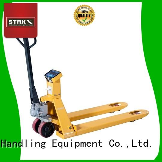 Custom long pallet jack weighting factory for stairs