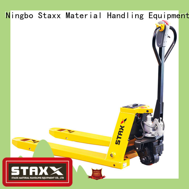 Staxx Top compact pallet jack for business for hire