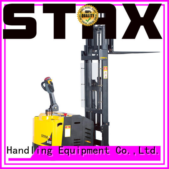 Staxx Latest electric power stacker for business for rent