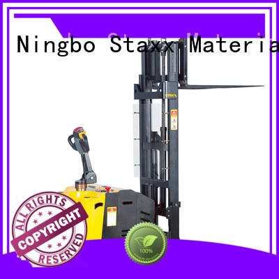 Staxx Latest electric stackers manufacturer company for rent