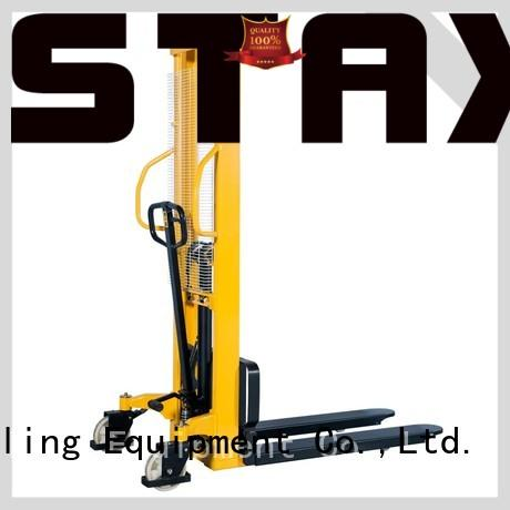 Staxx New hydraulic stacker price factory for hire