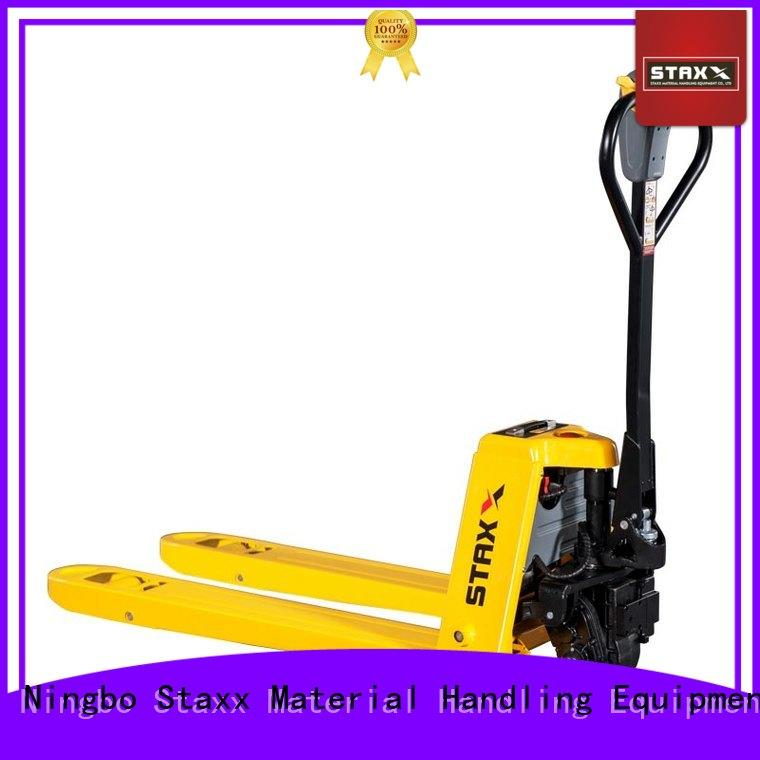Staxx Latest stainless steel pallet jack Supply for warehouse