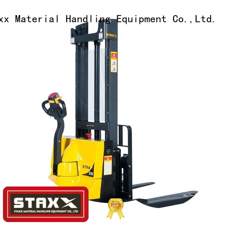 Staxx Best electric pallet truck suppliers manufacturers for warehouse