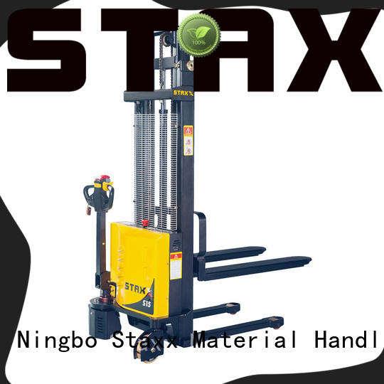 Staxx pallet pallet stacker truck manufacturers for hire