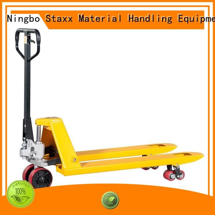 Staxx series pallet truck lifting capacity Supply for hire
