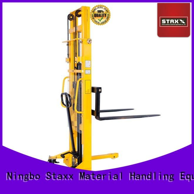Staxx High-quality semi electric stacker price in india manufacturers for hire