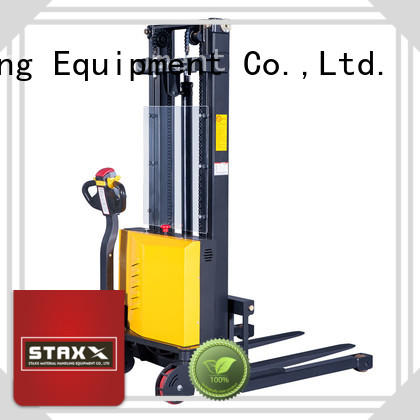 Top pallet jack stacker full factory for warehouse