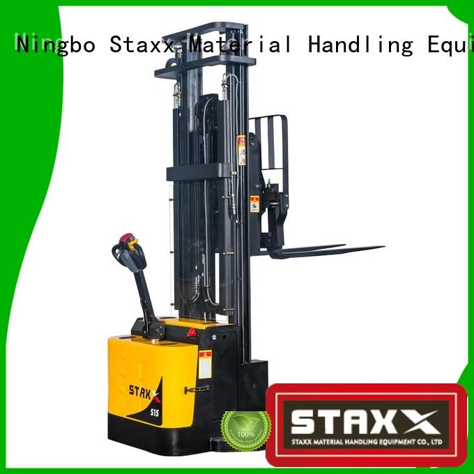 Staxx price hand stacker forklift Suppliers for rent