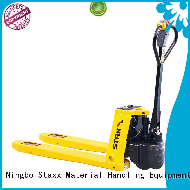 Staxx ept15h18h pallet jack fork width Supply for stairs