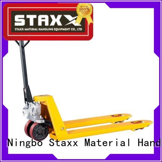Staxx hpt25q floor pallet jack company for rent