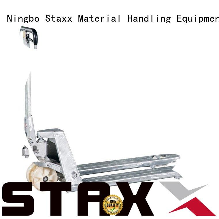 Staxx Custom trolley pallet jack Suppliers for hire