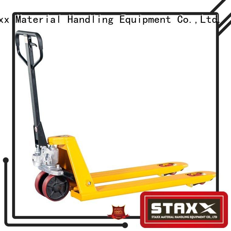 Staxx Wholesale pallet truck hire company for rent