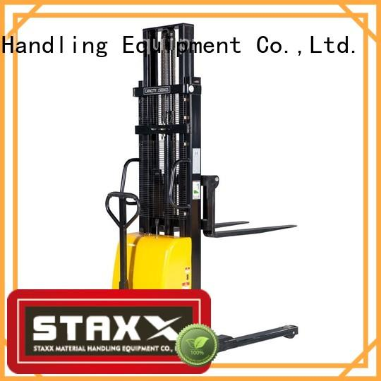 Staxx straddle mini electric pallet jack Supply for rent