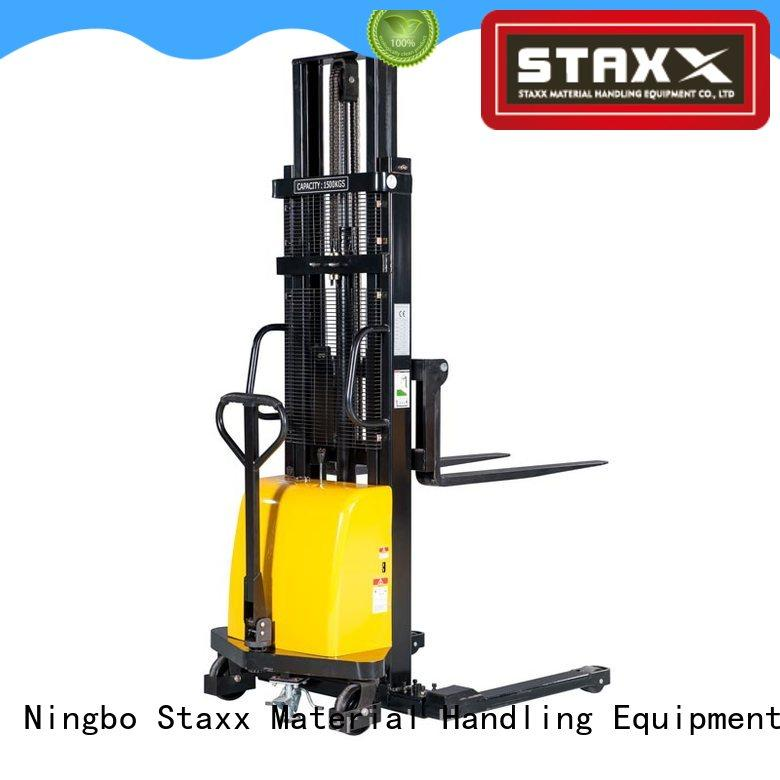 Staxx leg semi electric forklift Suppliers for warehouse