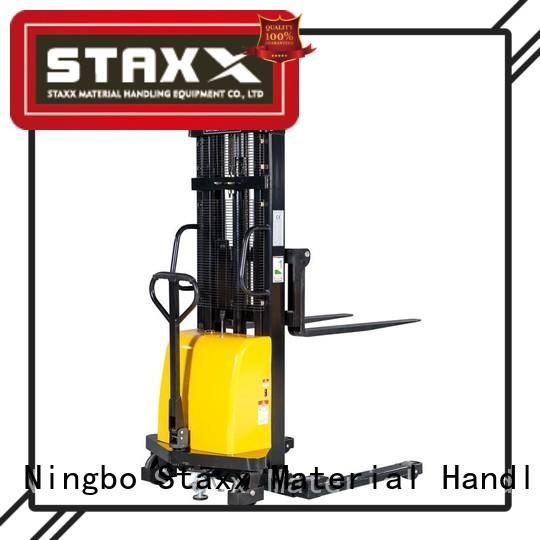 Staxx fork manual hydraulic stacker factory for stairs
