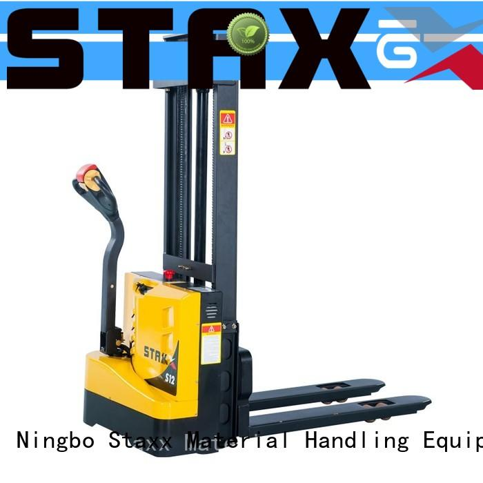 Staxx cbes500750 walkie stacker forklift company for warehouse