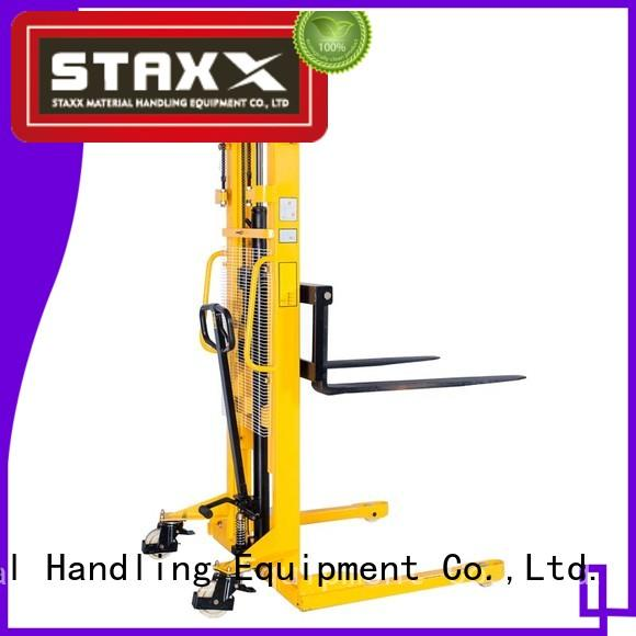 Staxx warehouse double pallet walkie rider Supply for warehouse