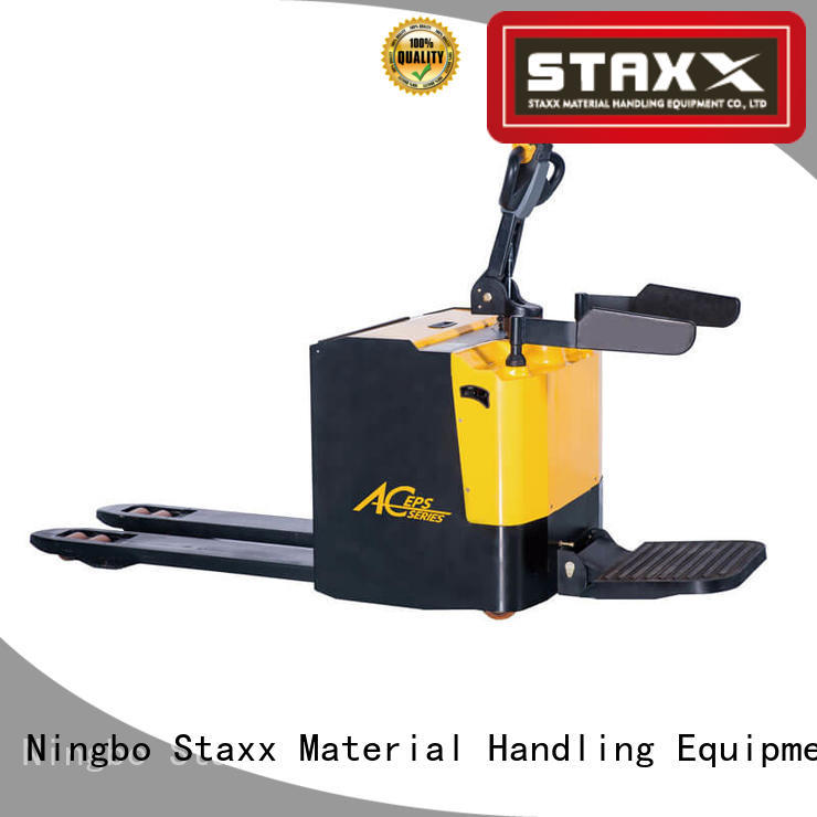 Staxx Best pallet jack 6000 lb factory for warehouse