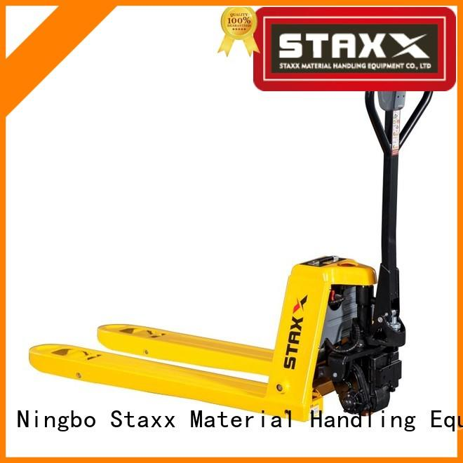 Staxx Custom high rise pallet truck Suppliers for rent