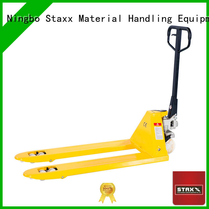 Staxx hand used hand pallet truck Supply for hire