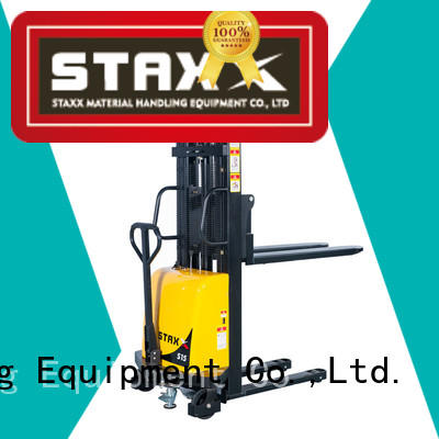 Wholesale battery pallet stacker straddle Suppliers for rent