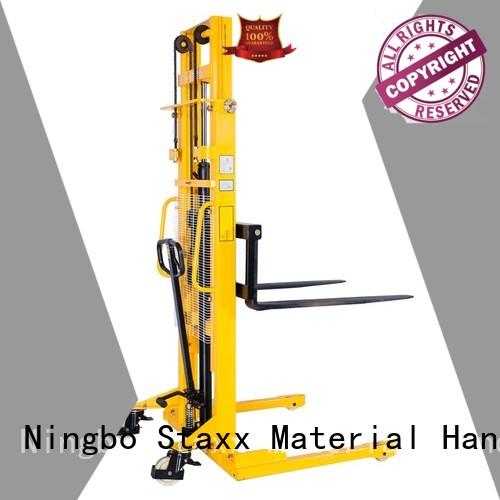 Staxx Custom pallet jack stacker for business for hire