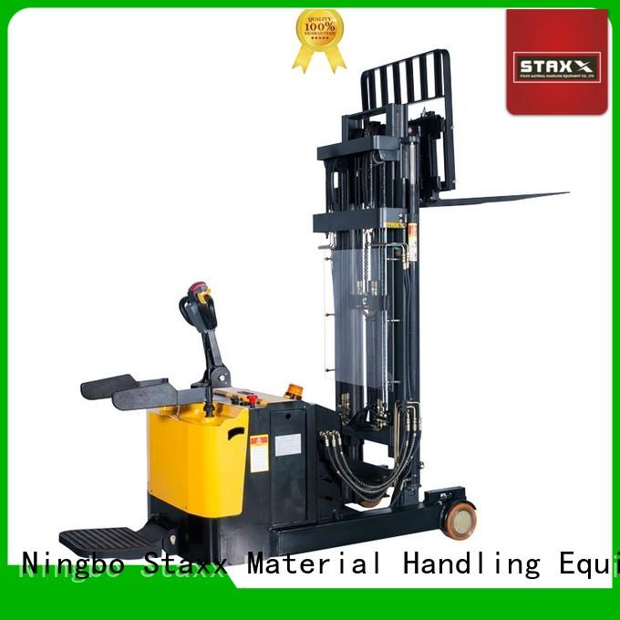 Staxx stacker semi electric pallet truck Suppliers for warehouse