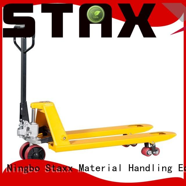 Staxx duty electric pallet jack motor Suppliers for warehouse