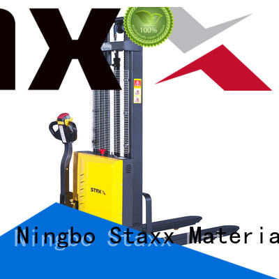 Staxx Top counterbalance pallet stacker factory for rent