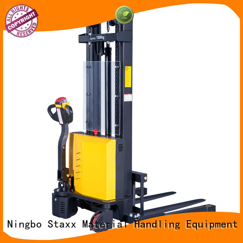 Top electric pallet stacker balance factory for stairs