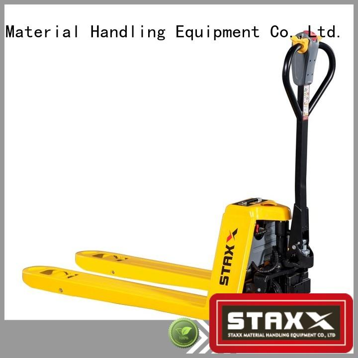 Staxx semi 6 foot pallet jack for business for warehouse