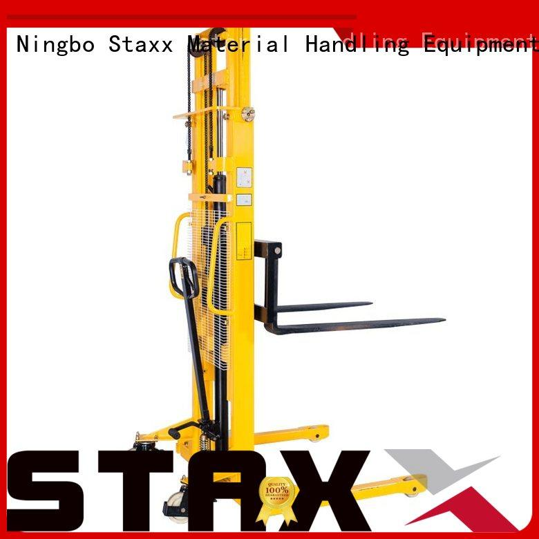 Staxx manual walkie forklift for sale manufacturers for rent