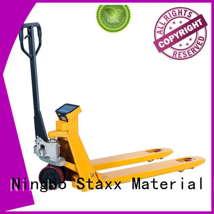 Staxx stacker used hand pallet truck company for rent