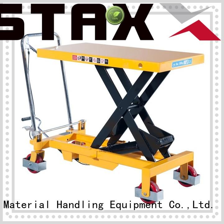 Top spring pallet lift table series company for hire