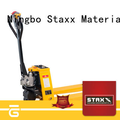 Staxx Custom used hand pallet truck for business for warehouse