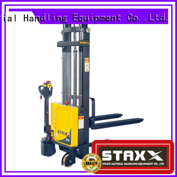 Staxx High-quality pallet stacker truck for business for hire