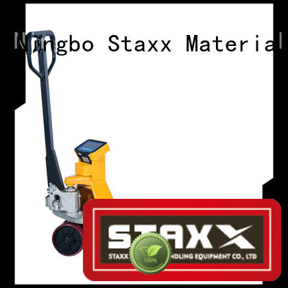 Staxx pws1015s used hand pallet truck factory for warehouse