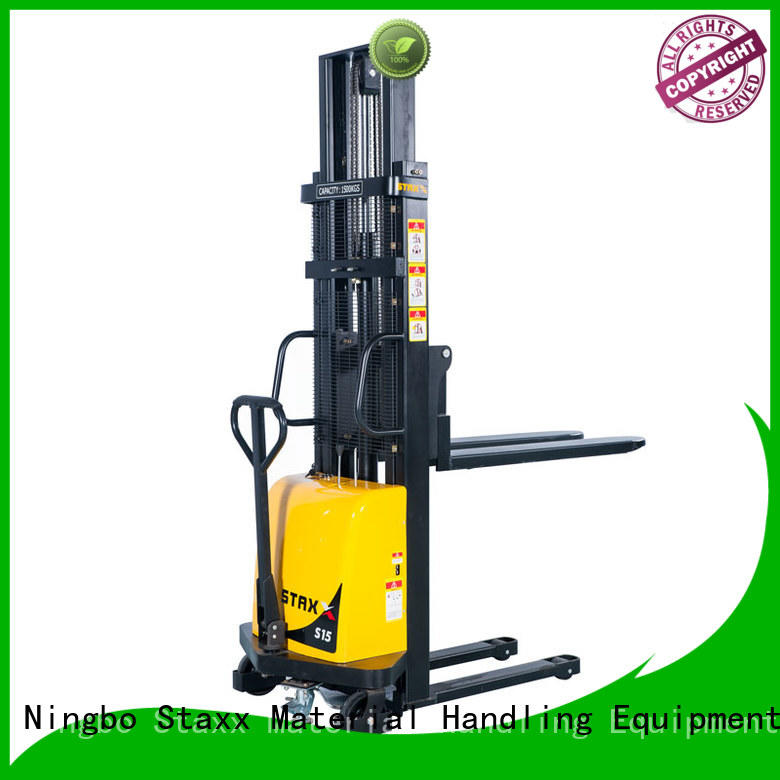 Staxx Latest hydraulic stacker lift Supply for rent