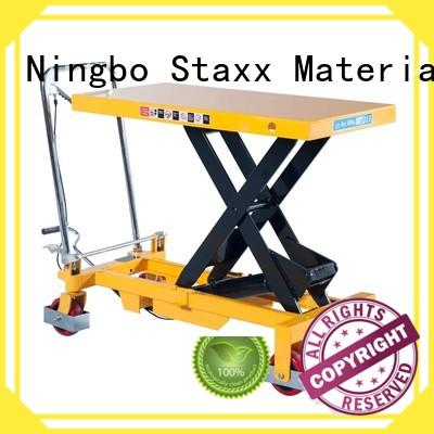 Staxx pt outdoor lifting platform Supply for warehouse