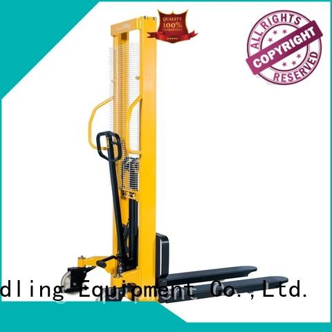 Staxx leg semi electric stacker price in india manufacturers for hire