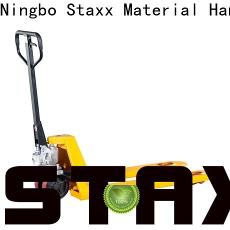 Staxx heavy pallet jack truck for business for warehouse