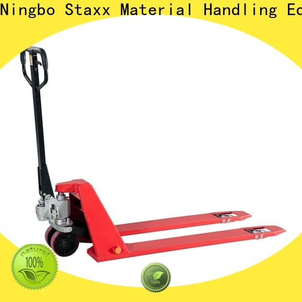 Staxx scale material handling pallet trucks company for stairs