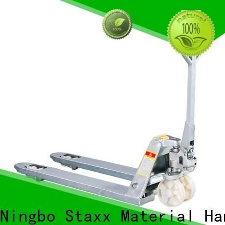 Staxx pallet trucks semi electric scissor lift ehls hydraulic pallet truck trolley Suppliers for stairs
