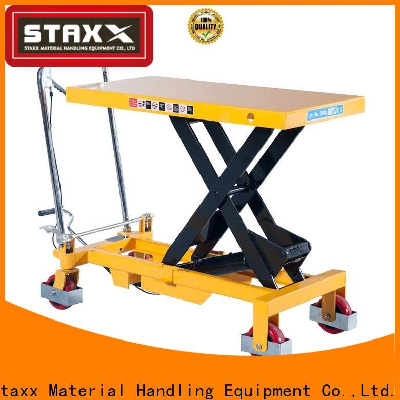 Staxx series hydraulic pallet truck manufacturers for stairs