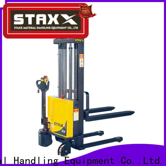 Staxx lift pallet stacker truck for business for stairs