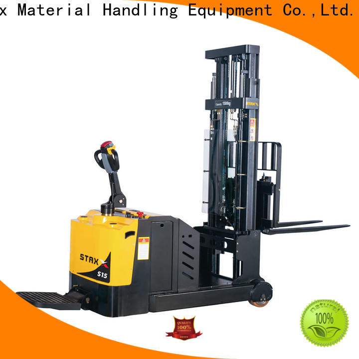 Top electric stacker suppliers full Suppliers for warehouse