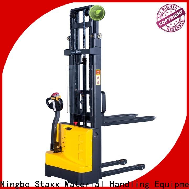 Staxx Custom straddle pallet stacker for business for rent