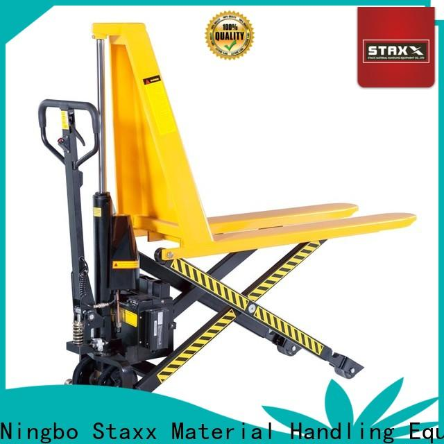 Staxx series manual forklift for business for rent