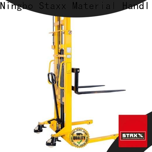 Staxx series electric lift pallet stacker factory for stairs