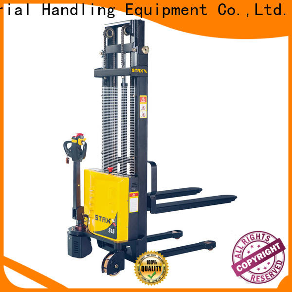 Latest used hand pallet truck stacker manufacturers for rent